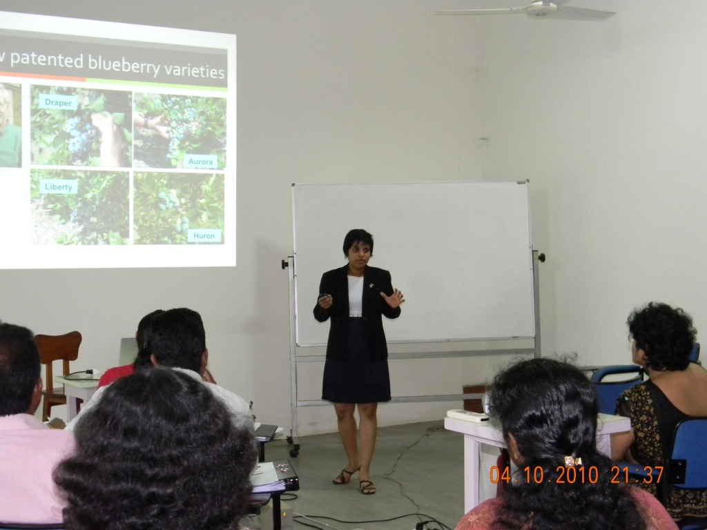 US Embassy Sponsored Biotech Workshop in Colombo, Sri Lanka