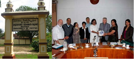 MSU Team Visit to University of Jaffna